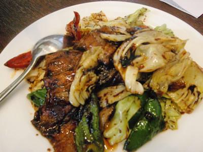 ピリから豚野菜焼き