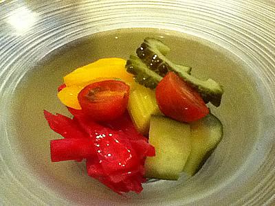 野菜盛り合わせピクルス